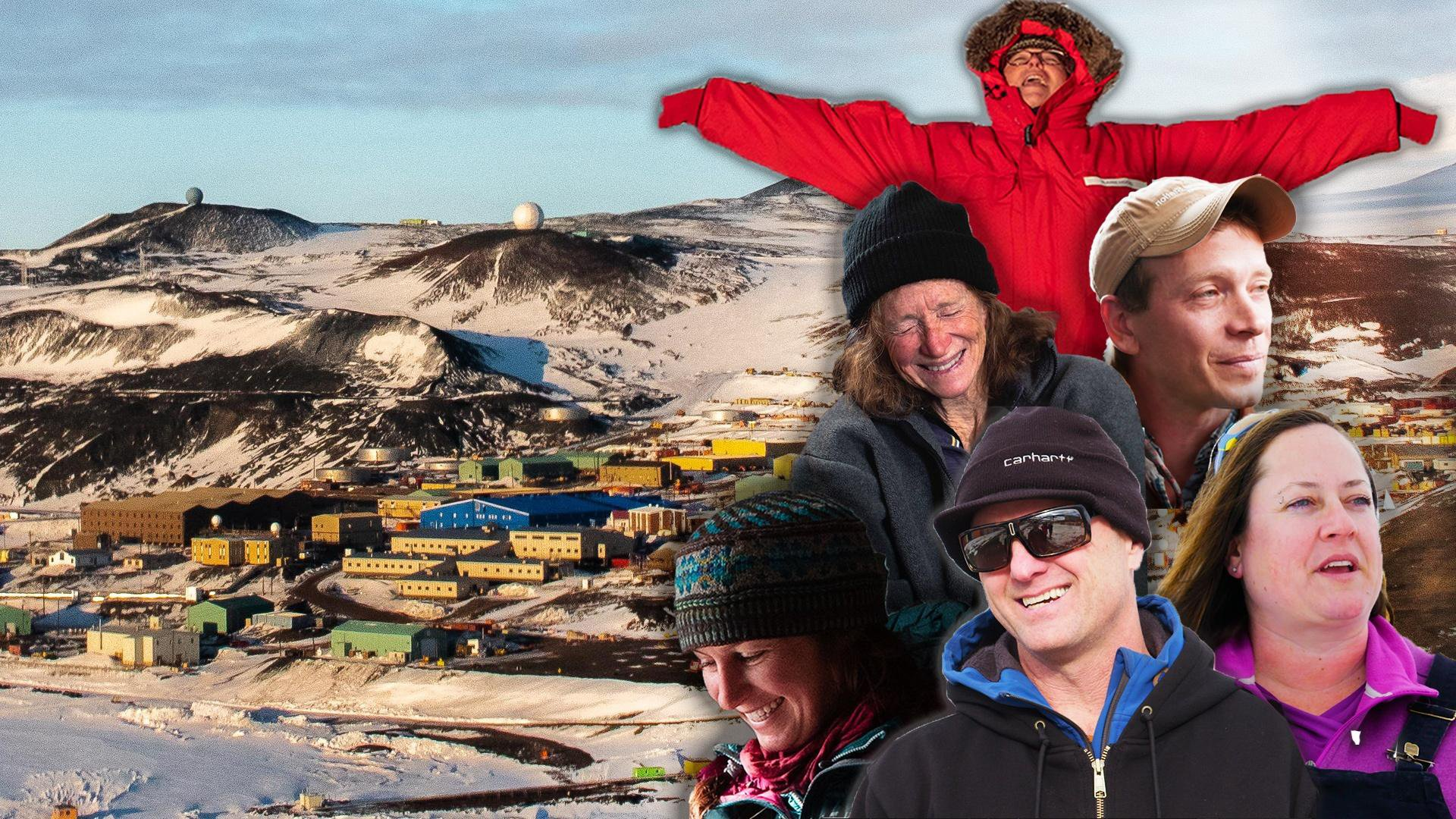 Antarctic Extremes Live in Antarctica