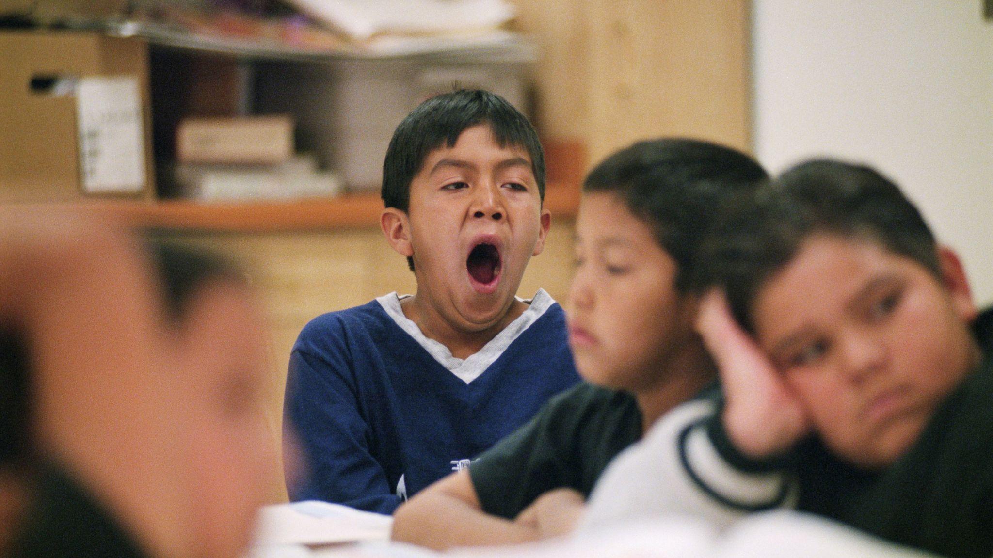 yawning-student