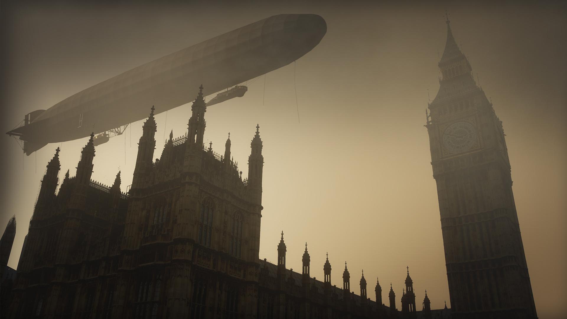 Zeppelin Terror Attack Hero