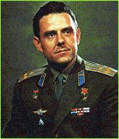 Свой первый космический полёт Владимир Комаров совершил 12.