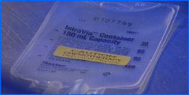 chemotherapy IV bag