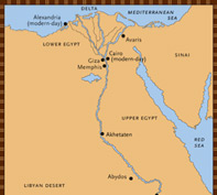 NOVA The Mummy Who Would Be King Who Was Rameses I PBS - Map of egypt during ramses