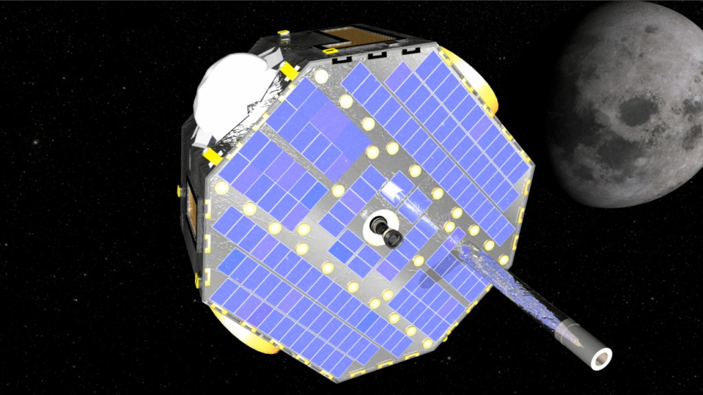 IBEX satellite