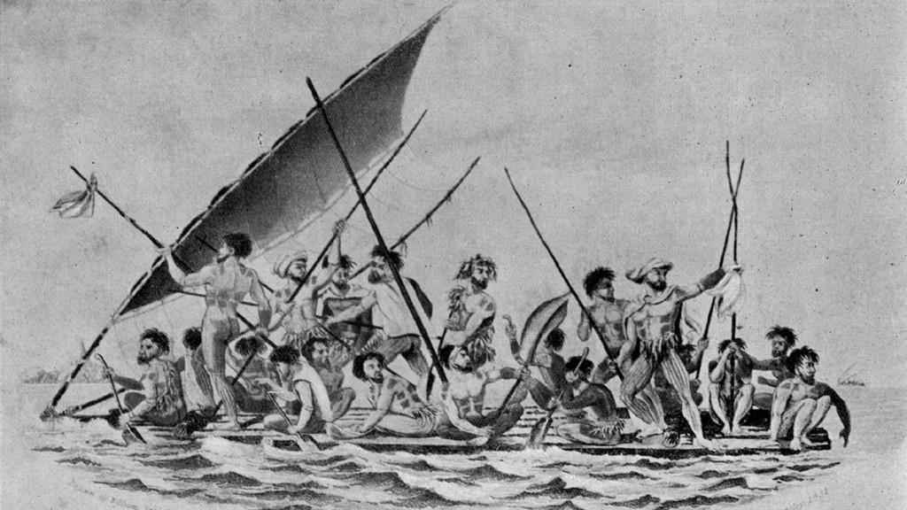 Mangareva-Raft
