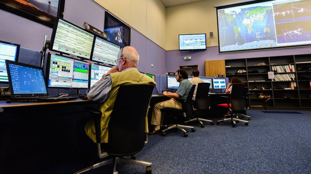 AMS control room