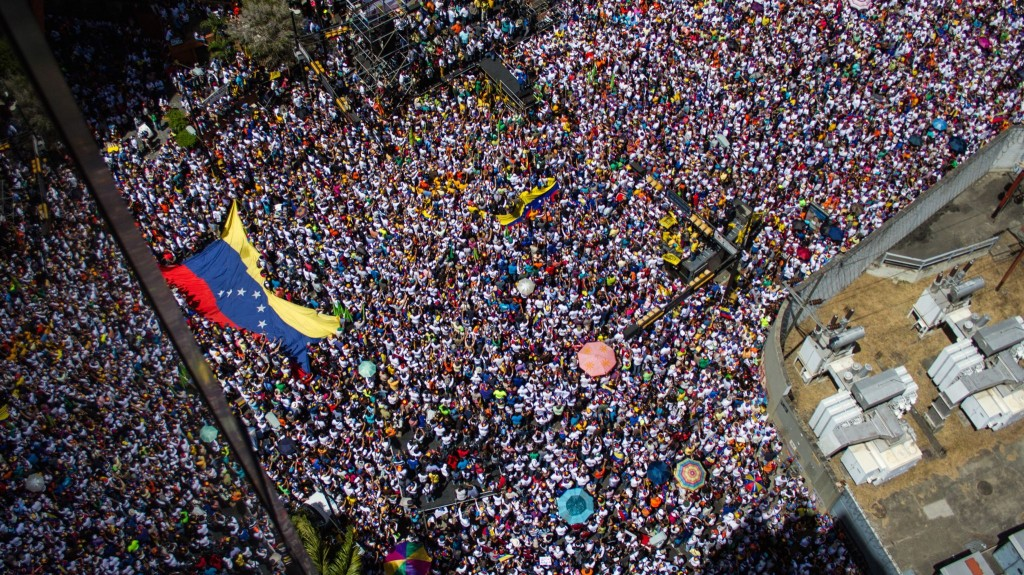 Venezuela protest March 22 2014