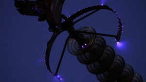 corona-discharge-power-lines