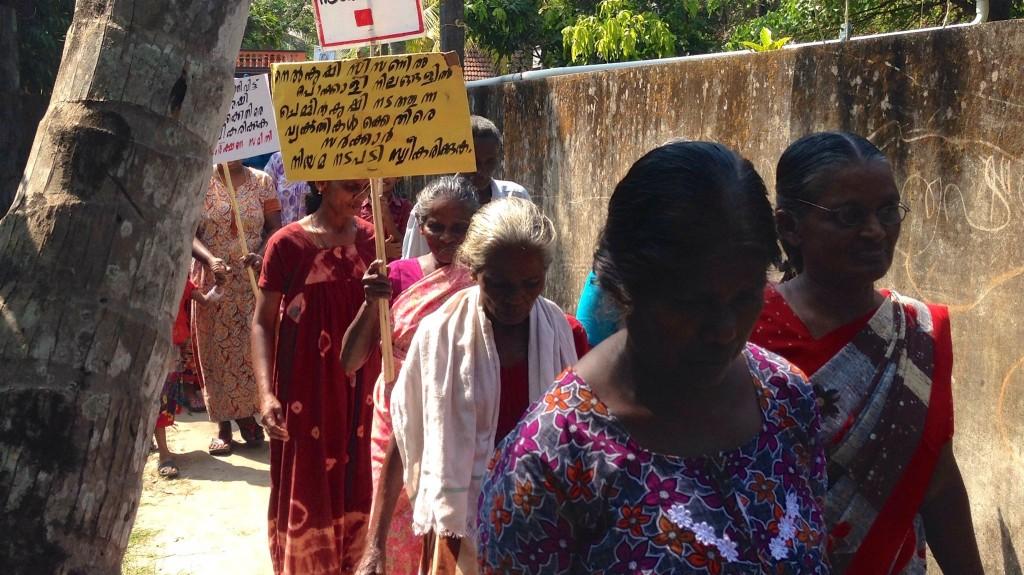 Neendakara protest