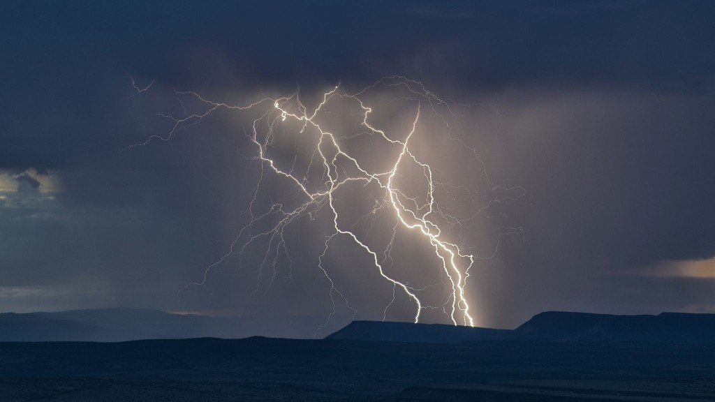 For Every 1C Of Global Warming Lightning Strikes Will Increase By