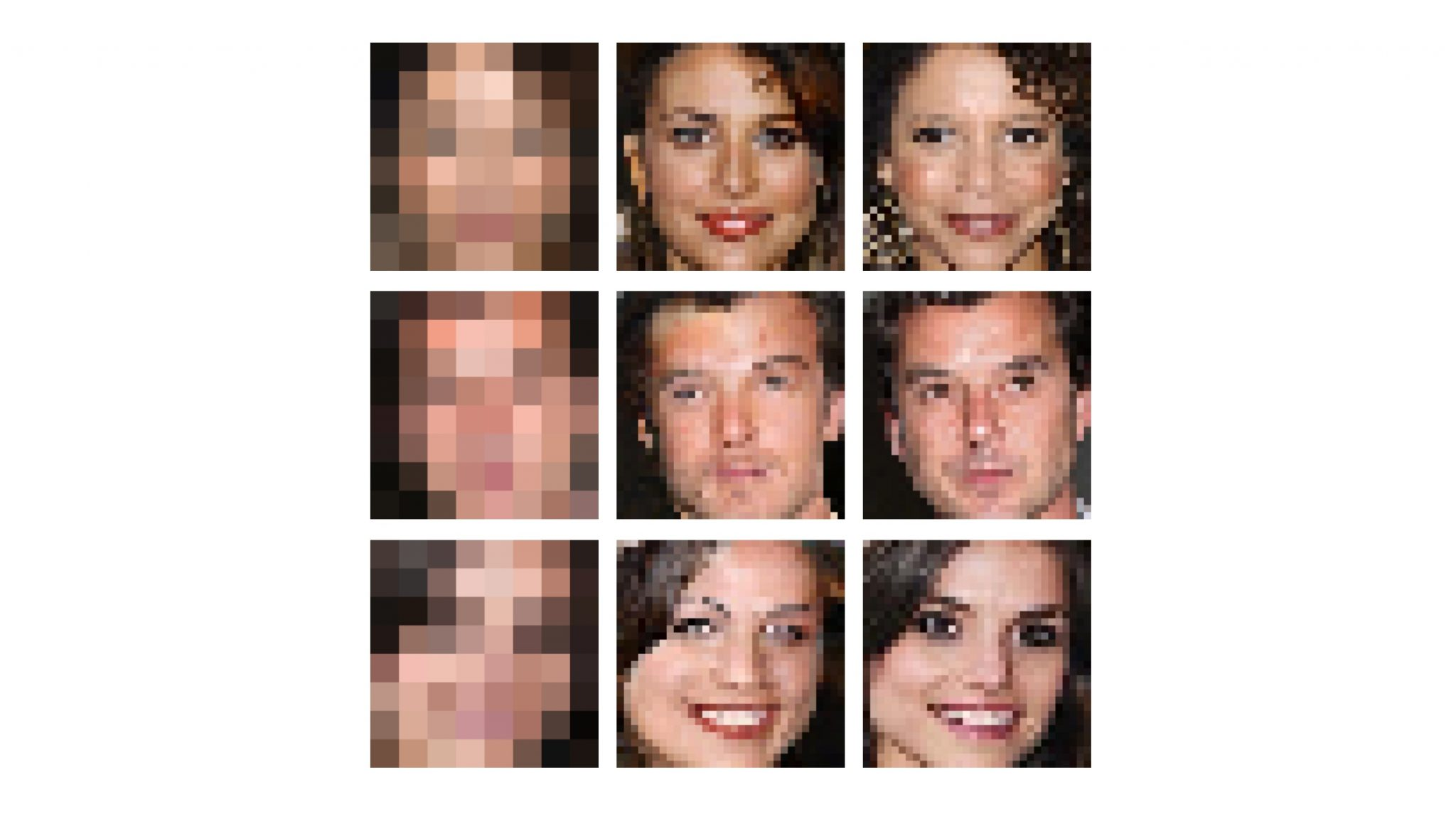 Google Brain Creates Technology that Can Zoom In and Enhance Pixelated Images