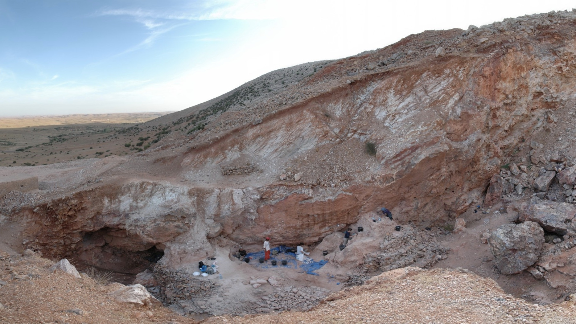 Earliest fossils of our species found in Morocco