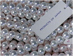 Pearls: products of Japan