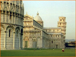 Pisa buildings