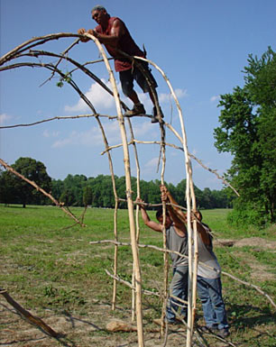 Building a longhouse