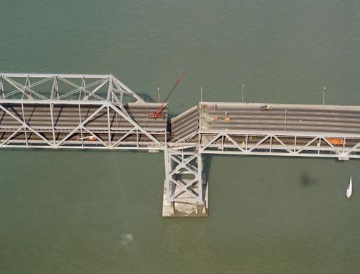 07 san francisco oakland bay bridge collapsed 1989