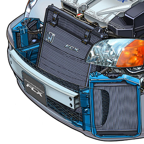 Fuel cell cooling system
