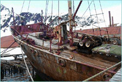 Wreck of the Petrel