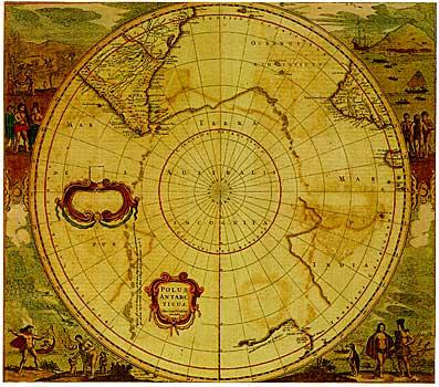NOVA Online | Shackleton's Antarctic Odyssey | Mapping Terra