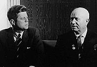 Kruschev and Kennedy