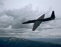 U-2 in flight