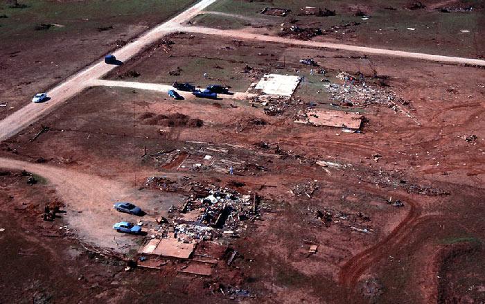 Tornado Damage Image