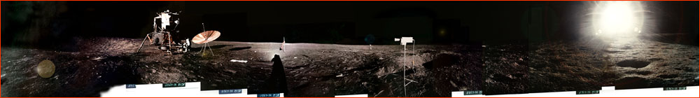 Apollo 12 panorama