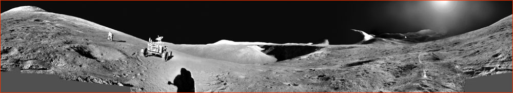Apollo 15 panorama
