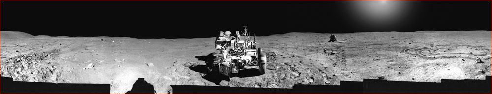 Apollo 16 panorama