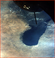 Lake Chad, from Gemini 9