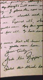Jack the Ripper's diary