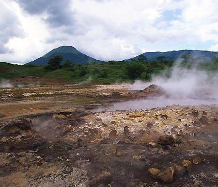 Figure 5 - Vent near Nyiragongo.(13)