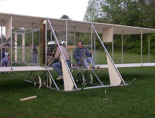 NOVA   Wright Brothers' Flying Machine   Building Wright Replicas