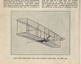 Wright's flyer page