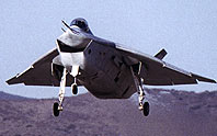 Boeing X-32 first flight