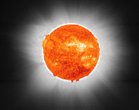 Solar eclipse composite image