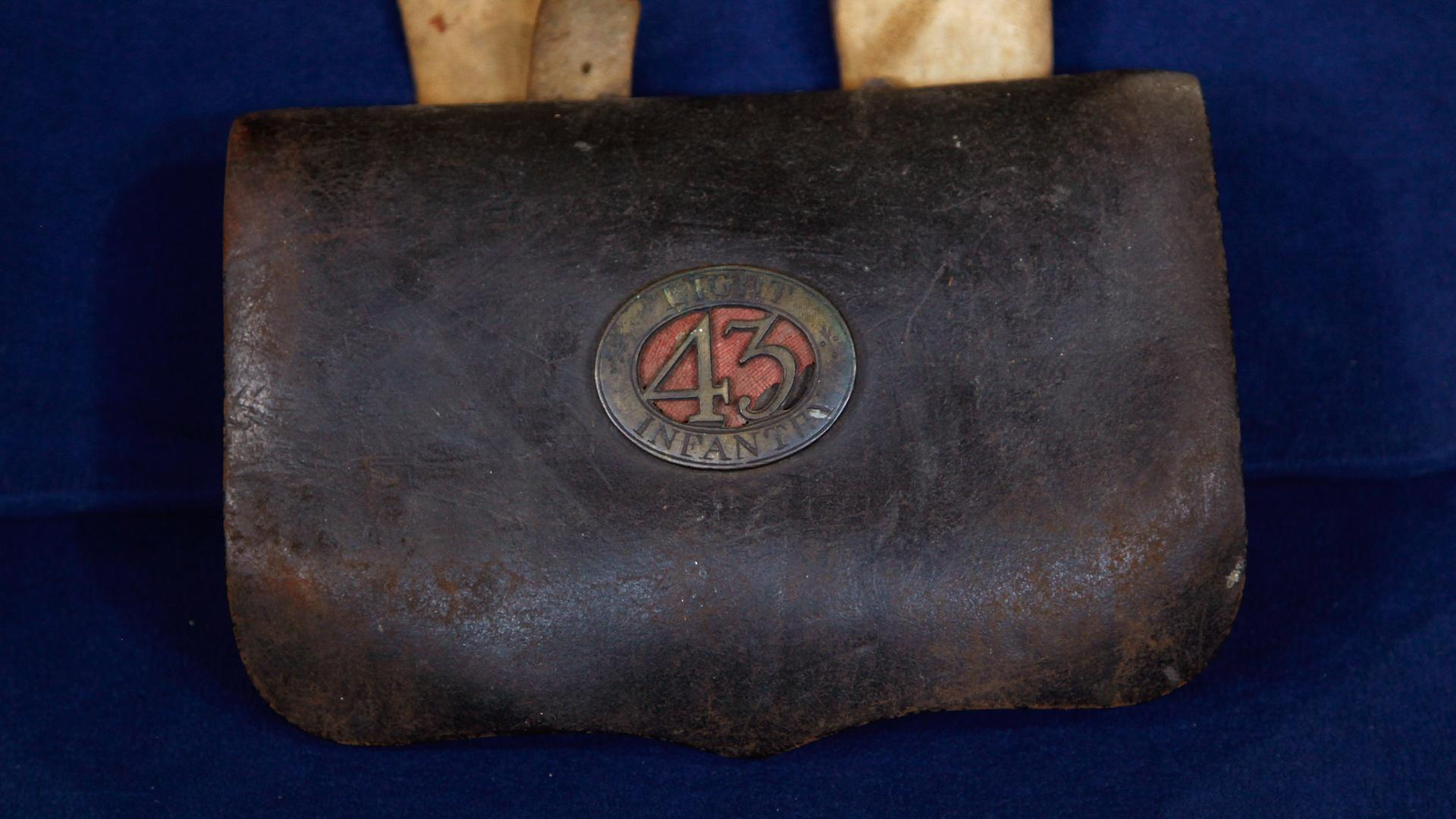 Revolutionary War British Cartridge Box
