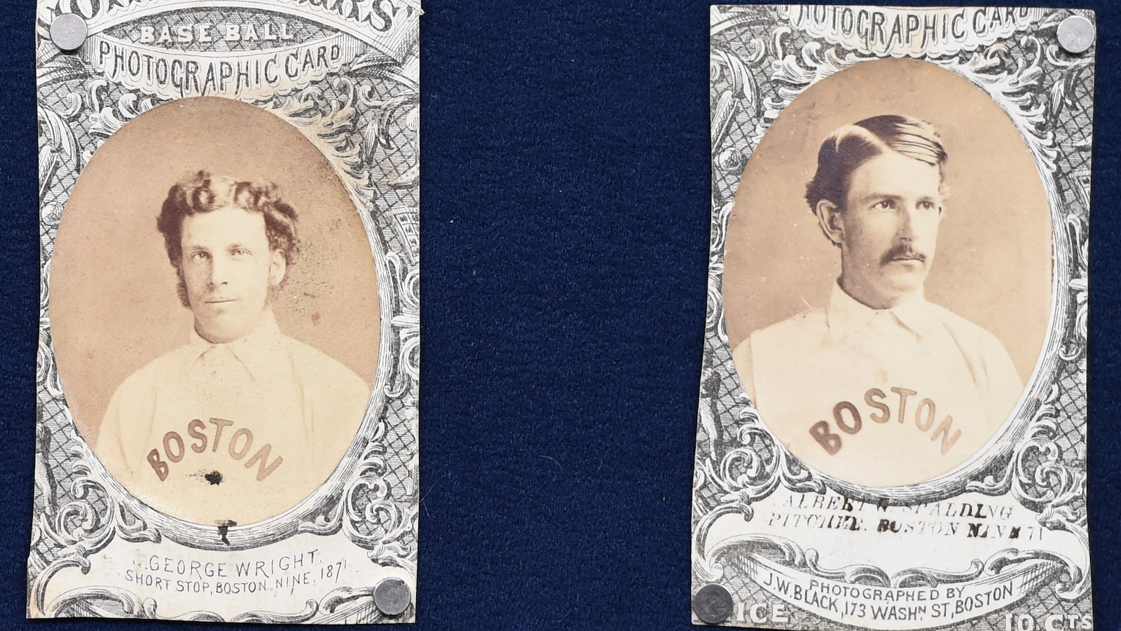 Gallery: See the Boston Red Stockings Baseball Cards