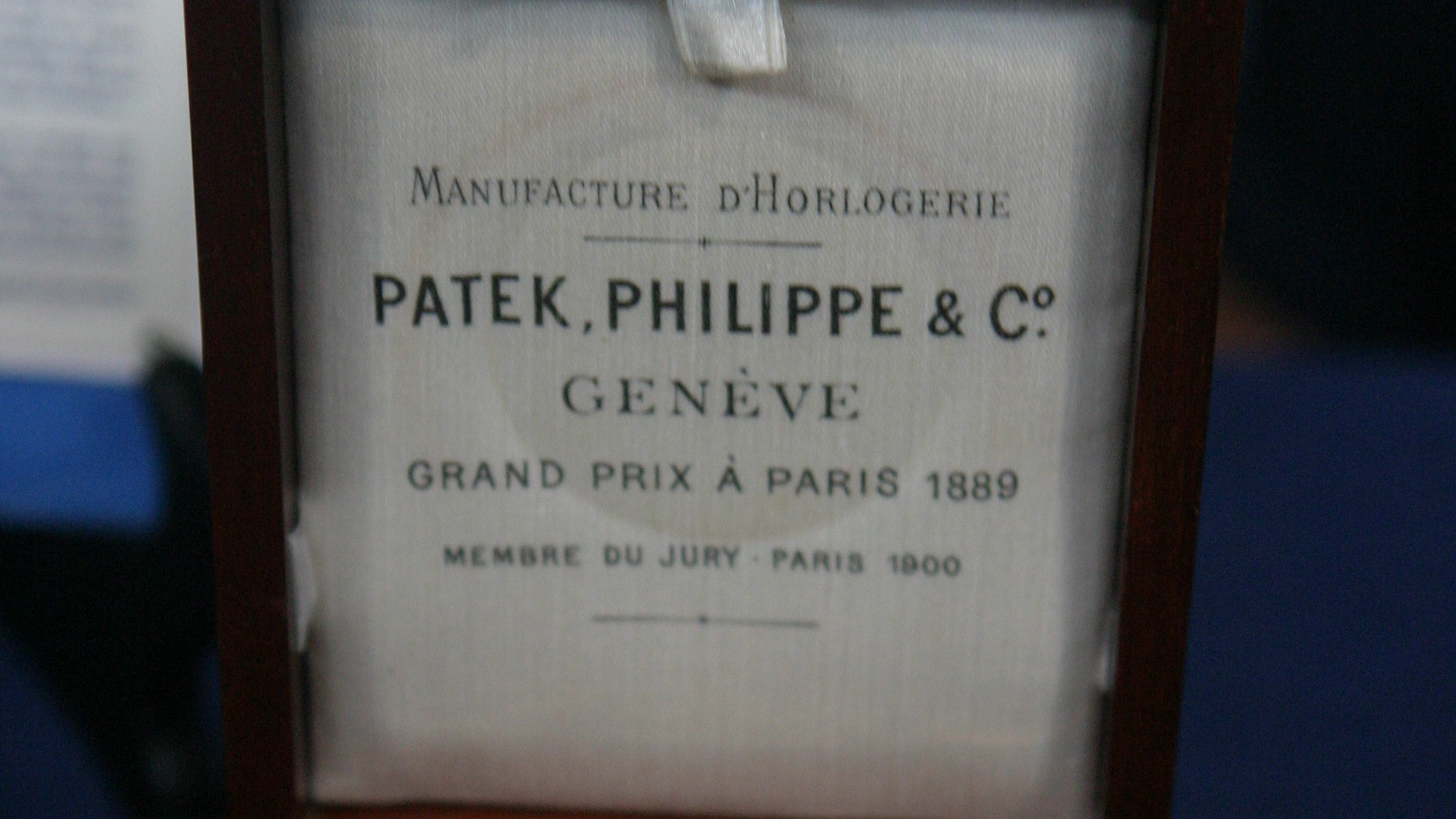 More on Patek Philippe