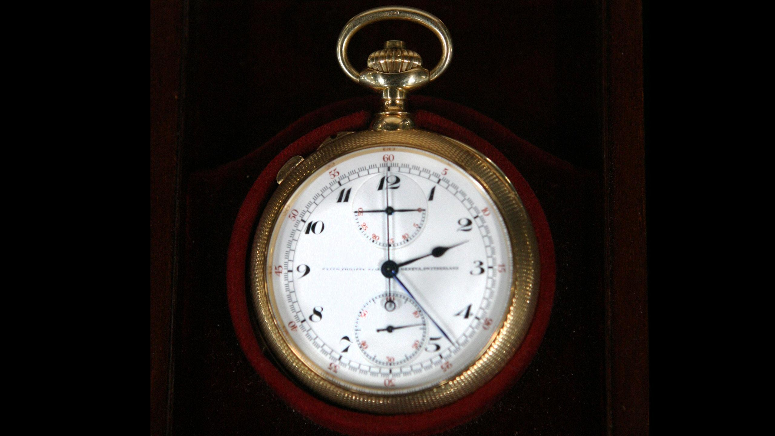 1914 Patek Philippe Pocket Watch