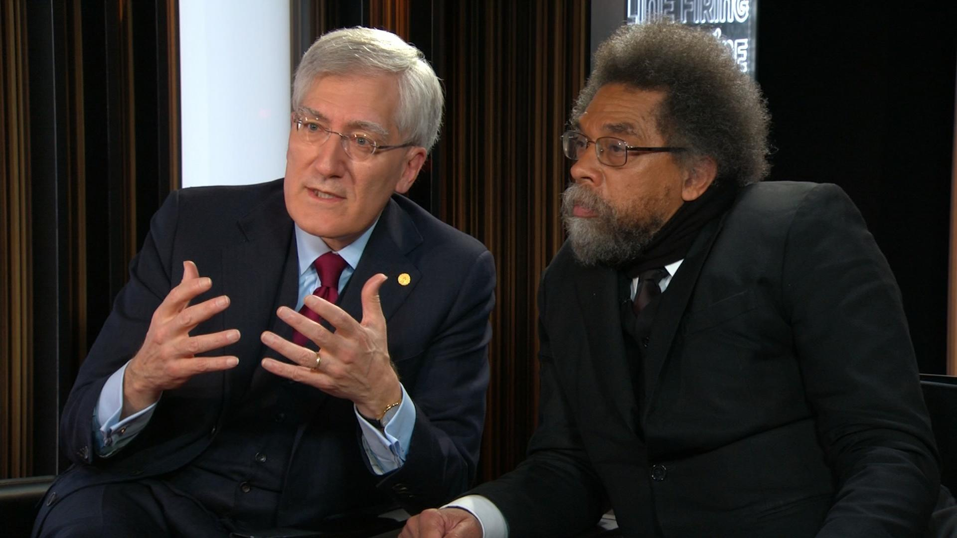 Cornel West And Robert George Video Firing Line With Margaret Hoover Pbs