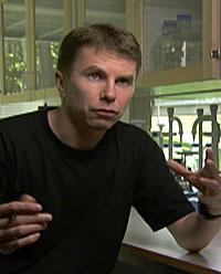 Molecular biologist Peter Savolainen