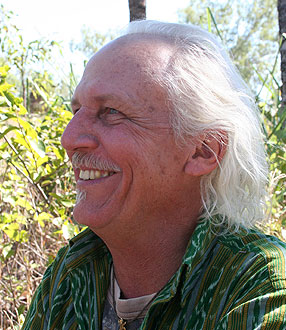 Crocodile conservationist Rom Whitaker