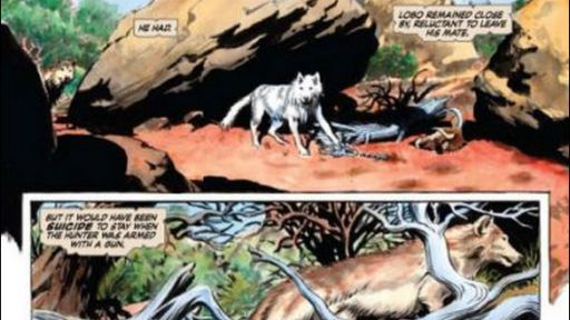 "NATURE Comic Book – ""Lobo: King of the Currumpaw"""