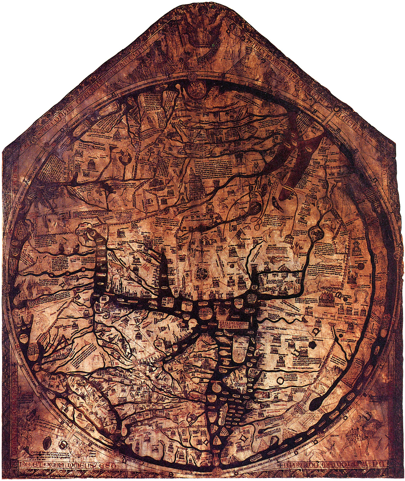 The Dragon Chronicles The Hereford Mappa Mundi Nature PBS