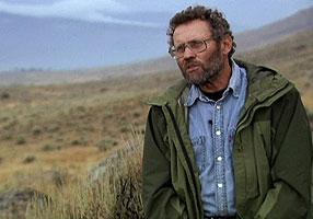Wildlife cinematographer Bob Landis