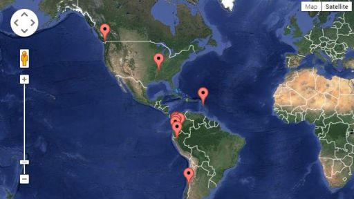 Interactive Map: Filmmaker's Field Notes