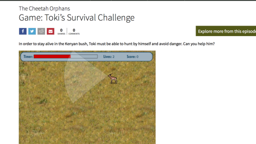 Game: Toki's Survival Challenge