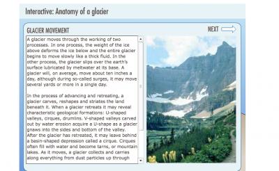 Interactive: Anatomy of a Glacier