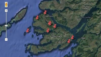 Interactive Map: Around the Isle of Mull
