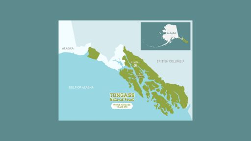 Map of the Tongass